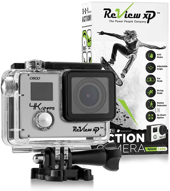 Review XP C600 4K Action Camera