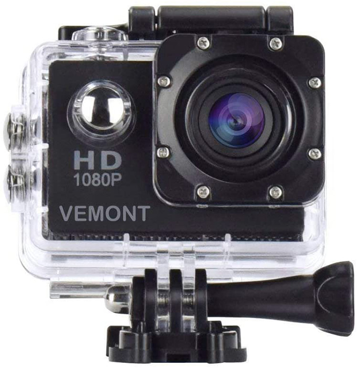 Vemont Action Camera 1080P